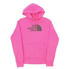 THE NORTH FACE Pink Hoodie | Womens S | Hooded Hood Sweatshirt Vintage Retro