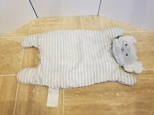 Modern Baby Kids Gray Elephant Padded Plush Baby Play Mat - No Monogram