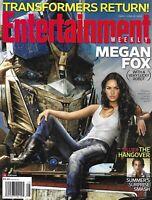 Entertainment Weekly Magazine Megan Fox Transformers The Hangover Kenny Chesney