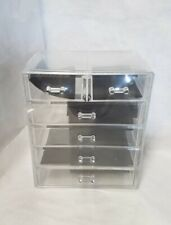 New Pro Clear Makeup Cases Cosmetic Organizer Drawers Jewelry Boxes Acrylic