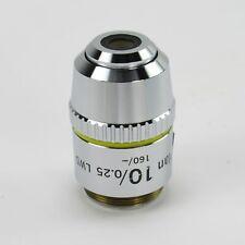 NIKON E PLAN 10X/0.25 LWD 160/- MICROSCOPE OBJECTIVE