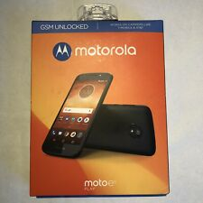 New/sealed Motorola Moto e5 play SMARTPHONE GSM Unlocked - Black 16 GB