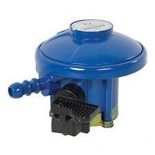 Caravan Motorhome 28-30 mbar Butane Gas Regulator Fits Calor 21mm Clip On Bottle