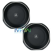 "(2) JL AUDIO 10TW1-2 10"" TW1 THIN-LINE SHALLOW MOUNT CAR SUBWOOFERS SUBS *PAIR*"