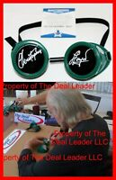 🔥 Christopher Lloyd Back To The Future Doc signed Goggles Prop Beckett PSA JSA