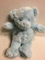 "Baby GUND Blue Bear 10"" Plush Stuffed Animal"