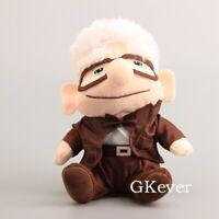 "Fredricksen Russell Friend Carl Movie UP Plush Doll Figure Stuffed Toy 8"""