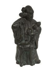 Cina 20. JH. FERRO personaggio-a Chinese Iron Sculpture of Shouxing-cinese chinois