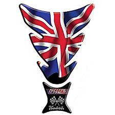 Keiti Protector de la etiqueta engomada de la Almohadilla De Tanque De Motocicleta Universal Bandera Británica
