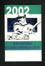 Arizona Diamondbacks--2002 Pocket Schedule--American Family Insurance