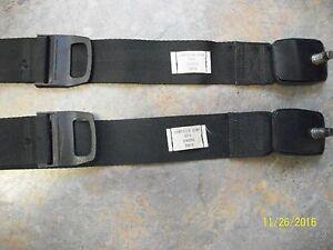 MOPAR PLYMOUTH DODGE 1973-74 BLACK SHOULDER BELTS