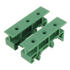 50pcs  PCB Circuit Board Mounting Bracket DIN Rail Mounting 2x Adapter+4x Screws