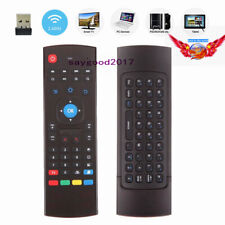 MX3 2.4Ghz Infrared Air Fly Mouse Keyboard Remote Control For Android TV Box PC