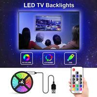 RGB 5050SMD LED Streifen W/USB Ir Regler Farbveränderung TV Hintergrund Licht