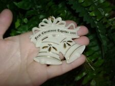Lenox - 1999 - First Christmas Together - Christmas ornament - 1st - porcelain