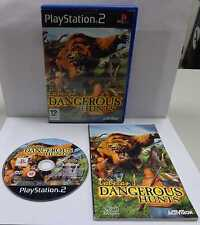 Console Game Play SONY Playstation 2 PS2 Play PAL - CABELA'S DANGEROUS HUNTS - -