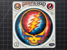 The Grateful Dead Jerry Garcia STEAL YOUR FACE 2-sided sticker +2 GDP 2004 OOP