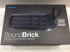Sound Brick Bluetooth Wireless Indoor/Outdoor Speaker w/Built-in Speakerphone