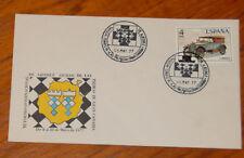 SPAIN CHESS SC COVER VI TORNEO INT. DE AJEDREZ LAS PALMAS GRAN CANARIA 1977