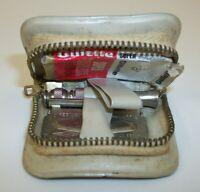 Vintage Gillette Zip Kit Travel Safety Razor