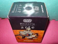 HISTORIA INTERACTIVA DEL ARTE - 6 DVDS  -  NUEVA
