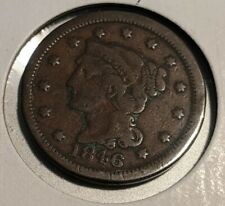 1846 Small Date Large Cent