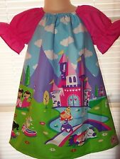 Princess Pony Clouds Castle  Dress Avaible in sizes Sz.2t,3t,4t - Ready to ship