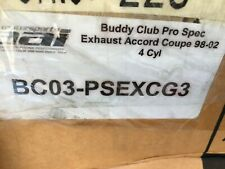 (CLOSEOUT) BUDDY CLUB PRO SPEC EXHAUST FOR 98-02 ACCORD COUPE 4CYL