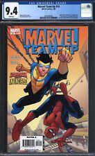 Marvel Team-Up #14 CGC 9.4 (Marvel Comics, 1/06) Spider-Man Invincible