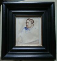 James Hayllar monogrammed  original watercolour painting portrait of a man.