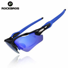 RockBros Cycling Glasses Polarized Sunglasses for Bicycle Fishing Climbing Blue