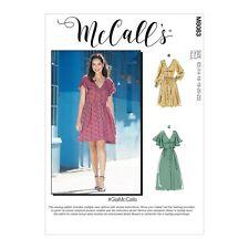McCalls Schnittmuster M8083  - Lässiges Kleid - Kleider & Gürtel - 3 Varianten