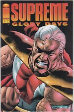 Supreme - Glory Days # 1 and 2, Supreme # 2, 3, and 4 - 1st appearance key lot