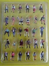 Noch 16045 H0 Sitzende Figuren handbemalt für Modellbahn Kirmes Circus Anlage