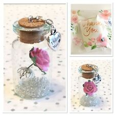 THANK YOU - A LOVELY MINIATURE GIFT/KEEPSAKE 4cm. A LOVELY WAY TO THANK SOMEONE