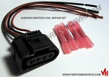 Audi VW Ignition Coil Connector Repair Kit Harness Plug Wiring