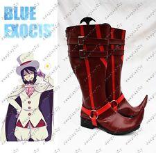 Anime Ao no Blue Exorcist Mephisto Pheles Cosplay Shoes Custom Size For Costume