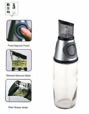 500mL Press and & Measure Dispenser Oil Vinegar Bottle Dispenser As Seen on TV