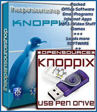 Knoppix 7.4.2 live linux 128GB bootable usb 3.0 flash drive-simplement plug 'n go