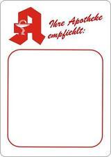 5x Preisschild Schild Apotheke DIN A7 Preisauszeichnung Schaufenster
