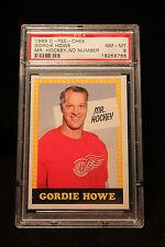 1969 O-Pee-Chee Gordie Howe PSA 8 NM MT Mr. Hockey, No Number