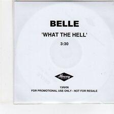 (EG142) Belle, What The Hell - 2006 DJ CD