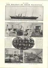 1902 New Royal Yacht The Victoria And Albert Staff And Rooms Queen Alexandra