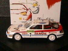 TOYOTA CELICA GT4 #7 TAMOIL RALLYE ALSACE 1992 BARRI HOFMANN TROFEU 232 1/43