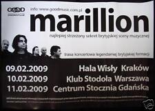 very rare poster Marillion, Poland