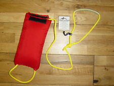 15 mtrs KAYAK CANOE QUALITY RESCUE PADDED BAG THROW LINE