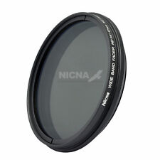 Nicna 72mm Fader ND Neutrial Density Filter Variable ND2 to ND400 Adjustable 72