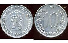 TCHECOSLOVAQUIE  10 haleru 1971
