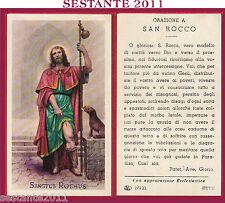 62 SANTINO HOLY CARD S. SAN ROCCO EL EB 2/211