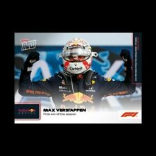 2021 Topps NOW Formula 1 Max Verstappen First Win of the Season F1 #4 PREORDER